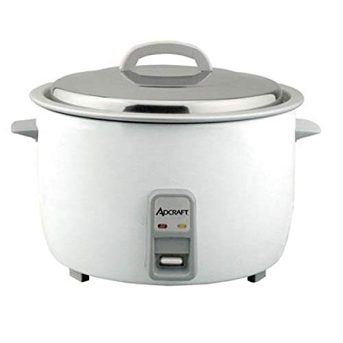 Admiral Craft RC-E50 50 Cup Electric Rice Cooker, 208/240v, White