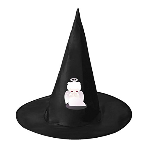 Homemade Angel Costumes Adult (Red Eye Angel Cosplay Witch Hat Toy to Costume Accessory Halloween Ball for Kids Adults)