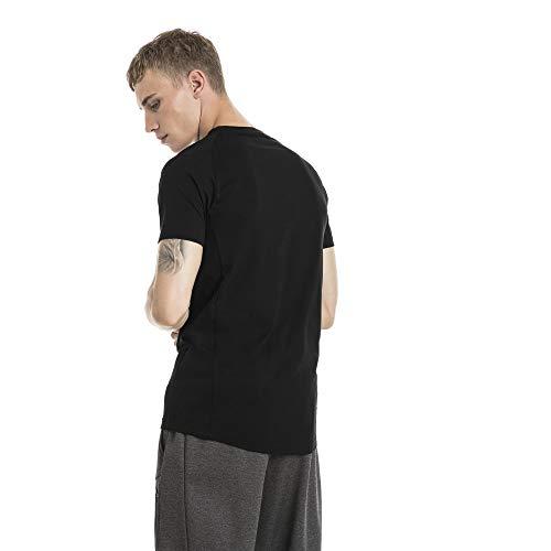 Warm Puma Black Evostripe T shirt Homme Cotton Tee UU5PnOR