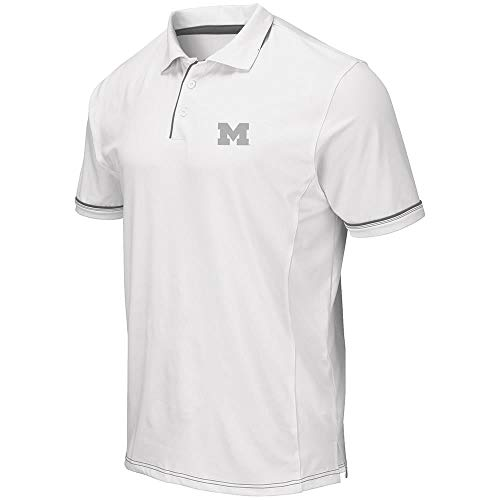 Mens Michigan Wolverines Iceland Polo Shirt - L