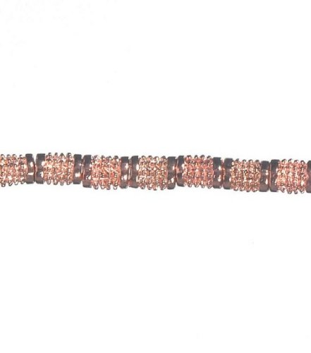 Copper Darice Beads (Daricer(R) Metal Tube Strung Beads - 12 Inch /Copper)
