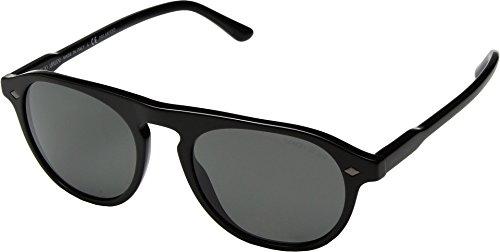 Giorgio Armani Men's 0AR8096 Black/Polarized Grey Sunglasses