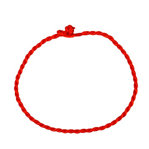 TOPMO Pack of 50 Kabbalah Red String Bracelets Fengshui Good Luck Bracelet Jewelry Kabala Charm Fashion Bangle ()