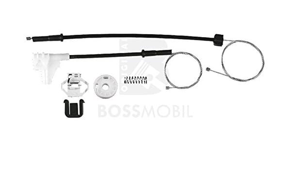 Bossmobil IBIZA 2+3 II+III 6K1 kit de reparaci/ón de elevalunas el/éctricos Trasero derecho