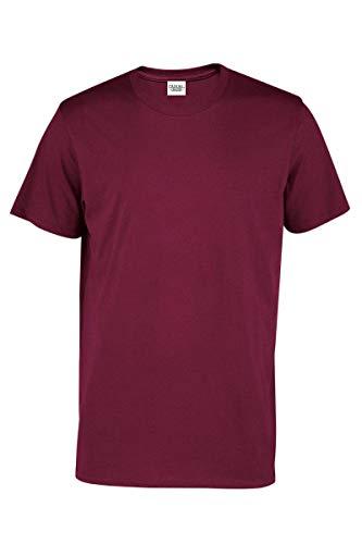 Maroon Short Sleeve Tee - Casual Garb Men's Crew Neck T Shirt Short Sleeve Tee T Shirts for Men Maroon Medium