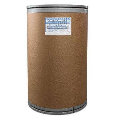 (Boardwalk BWK9150 Wax Base Sweeping Compound, Granular, 150 Lb Drum )
