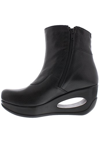 London Leather 091 Hepi Boots Black Fly Womens P18dqxTw1a
