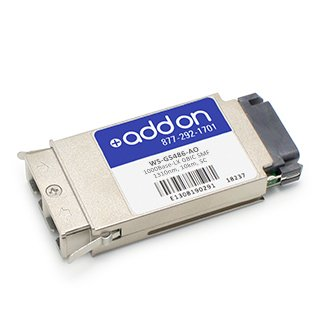 Add-onputer Peripherals, L WS-G5486-AO Addon Cisco Ws-g5486 Compatible 1000base-lx Gbic Transceiversmf, 1310 from Add On