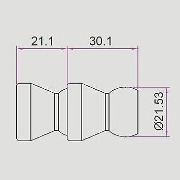 3.3ft K Typ Thermoelement Temperaturregler 0-400C Sensor Probe T1E3