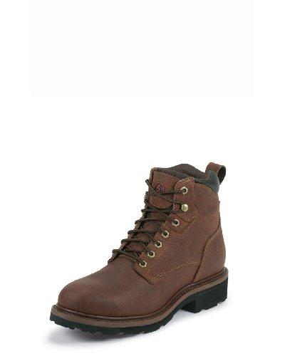 Men's Tony Lama 6 inch Grizzly 3R Waterproof Steel Toe Western Work Boot Black, SIENNA, 11.5W(EE) (Tony Lama Work Boots Steel Toe compare prices)