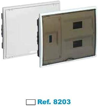 SOLERA 8203 Caja de Distribución, Blanco: Amazon.es: Bricolaje y ...