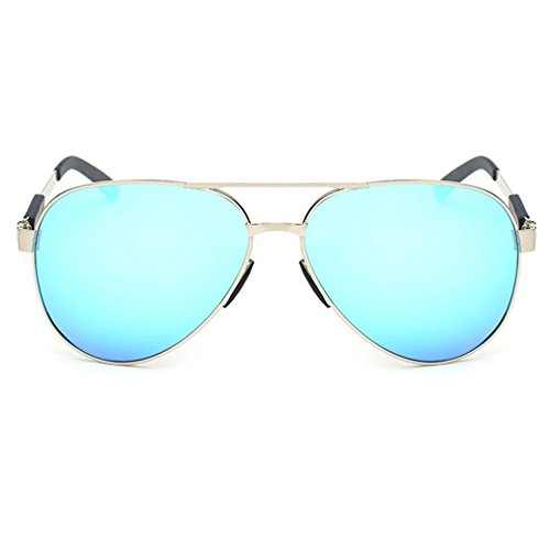 LOMOL Mens Summer Fashion Cool Personality Aviator Style Driving - Polarisation Sunglasses In