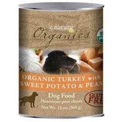 BY NATURE 392104 12-Pack Organic Turkey with Sweet Potato and Peas Food for Dogs, 3-Ounce, My Pet Supplies
