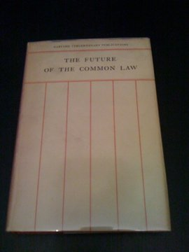 The Future of the Common Law ()