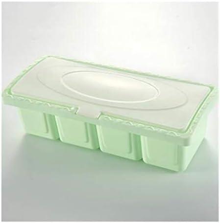 あなたのキャビ 調味料ラックスパイスポットボックス保存容器調味料の瓶キッチンツールのホームガーデン装飾は、ツールの低下の船積み用品 はパントリー (Color : Green)