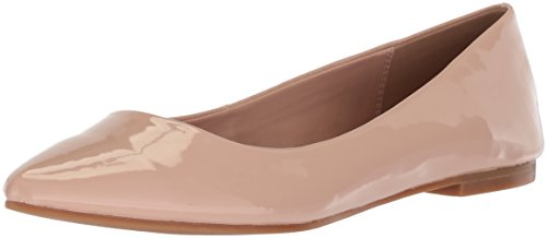 Bcbgeneration Womens Shoes - BCBGeneration Women's Millie Ballet Flat, Shell Patent, 5