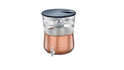 TTK Prestige Tattva 2.0 copper 16-Liter Water Purifier (Brown)