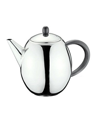 Cozyle Stainless Steel Semicircular Teapot handle for Pour Over Coffee & Tea Silver 33oz