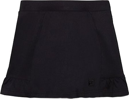 Fila Girl's Ruffled Skort - Black