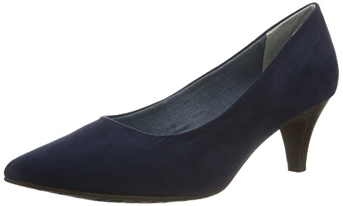 Women's Closed Navy Tamaris 805 5 Pumps 22415 Toe Structure UK Blue Rose q4dvEd