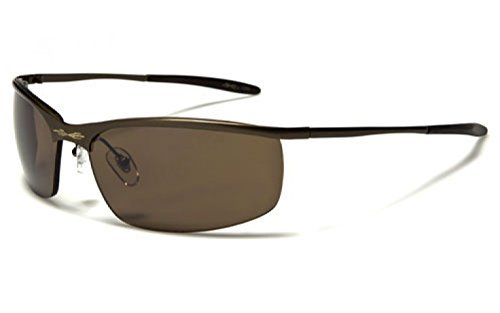 X-Loop ® Matrix Style Metal Half Frame - Sunglasses Matrix The From