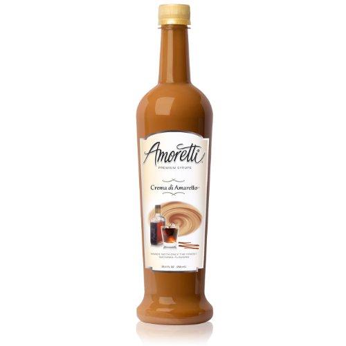 Amoretti Premium Syrup, Crema Di Amaretto, 25.4 Ounce ()