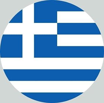 2x Kennzeichen Aufkleber Griechenland Nummernschild Sticker Ca 2 Cm Auto