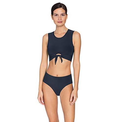 LLXX Tankini Set Badeanzug Damen Bauchweg Frau Bademode Badeanz/üge Tankinis Tankini mit Hotpants Badebekleidung Zweiteilig mit Streifen