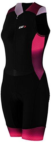Louis Garneau Pro Carbon Suit - Women's Black/Candy Purple, M
