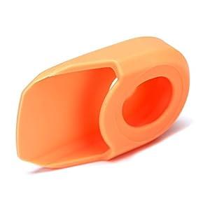 31rnGijPHZL. SS300 'Nfun Paio Protezioni pedivelle nsave Arancio in Silicone