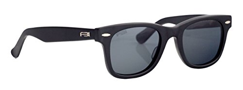FBI Men's Wayfarer Retro TAC Polarized Designer Sunglasses, 100% UV BLOCK, 14105 - Sunglasses Fbi