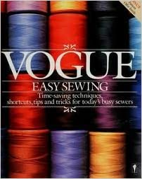 Book 'Vogue' Easy Sewing (Perennial library)