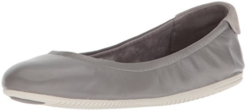 Cole Haan Studiogrand Convertible Ballet Flat,Ironstone Leather/Vapor Grey,8 B US by Cole Haan