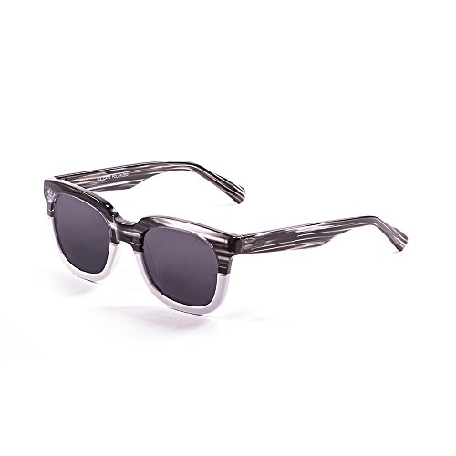 Ocean Sunglasses San Clemente Lunettes de soleil Brown Light/Transparent White Down/Brown Lens