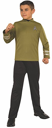 Star Trek Costume Pants (Rubie's Costume Kids Star Trek: Beyond Captain Kirk Costume, Large)