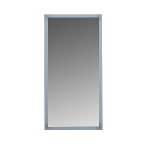 "MAYKKE Isabella 20"" W x 40"" H LED Reproduction, Wall Mounted Lighted Bathroom Vanity Mirror, Frameless Mirror, Horizontal or Vertical Mirror with LED Lighting Fringe UL Certified, LMA1002001"