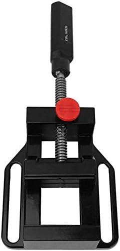 副ドリル用万力、アルミニウム合金は、広い70ミリメートル、フラット機械プレス万力クランプツール,黒