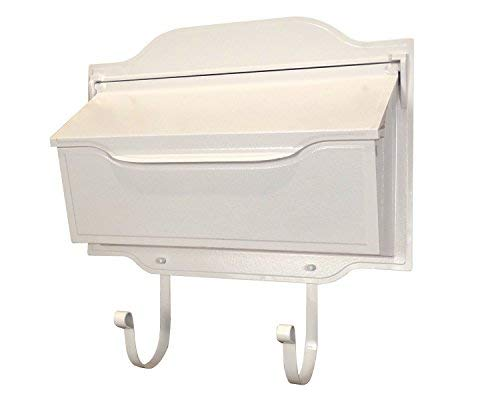 Special Lite Products SHC-1002-WH Contemporary Horizontal Mailbox White