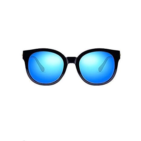 Sonnenbrille Trendy Damen Blau Polarisierte Sonnenbrille Anti-UV Anti Blendung UszOI55x