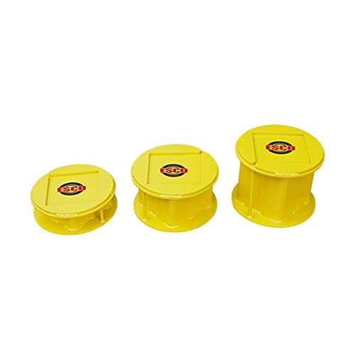 ESCO 12500 Heavy Duty 3 Piece Stackable Cribbing Stand Kit