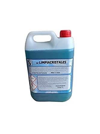 Caja de 4 garras de 5 litros de limpia cristales (20 litros) antivaho: Amazon.es: Industria, empresas y ciencia