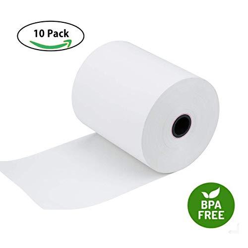 10 Paper Rolls Receipt (Thermal Paper Rolls 3 1/8