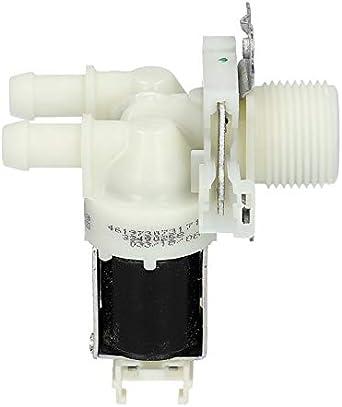 Electroválvula Lavadora de válvulas Bauknecht Whirlpool Ignis Privileg Hotpoint 481073073171 Bosch Siemens Constructa 00630843 630843