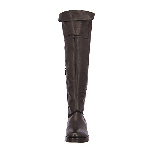 BULLBOXER 843502E7L - Botas de Piel para mujer Negro - negro