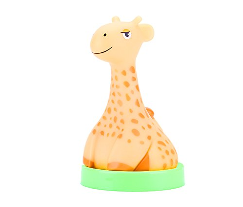 Portable Baby Cute Animal Nursery Light - Wireless Chargeable LED Lamp - No Battery Needed - Safe for Kids & Children - Giraffe