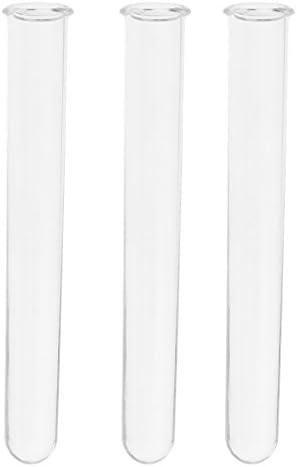 Baoblaze 3 Stücke Reagenzgläser Cocktail Bar Kunststoff-Produkt Kunststoff-Reagenzglas lebensmittelecht - Transparent 15cm