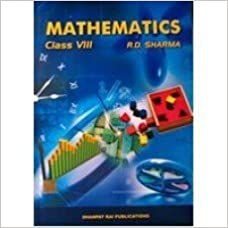 8th Class Rd Sharma Mathematics Book