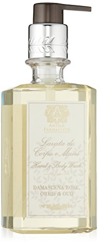 Rose Orris (Antica Farmacista Damascena Rose, Orris and Oud Hand and Body Wash, 10 fl. oz.)