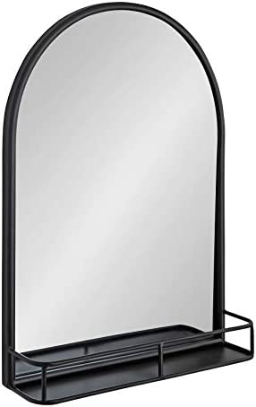 Kate and Laurel Estero Modern Farmhouse Arched Mirror