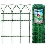 Meoww Mania Garden Border Green Wire Fencing 3ft High